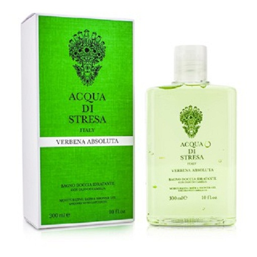 Acqua Di Stresa 180918 Verbena Absoluta Moisturizing Bath & Shower Gel, 300 ml-10 oz