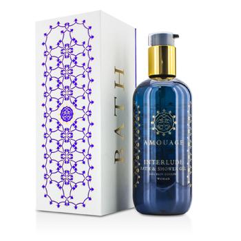 Amouage 183541 Interlude Bath & Shower Gel, 300 ml-10 oz