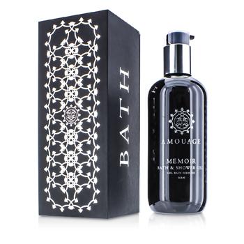 Amouage 183551 Memoir Bath & Shower Gel for Men, 300 ml-10 oz