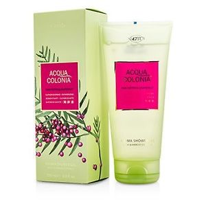 4711 195035 Acqua Colonia Pink Pepper & Grapefruit Aroma Shower Gel for Men, 200 ml-6.8 oz