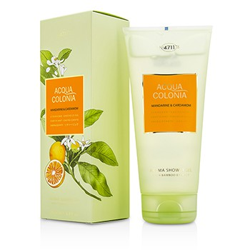 4711 196335 Acqua Colonia Mandarine & Cardamom Aroma Shower Gel for Men, 200 ml-6.8 oz