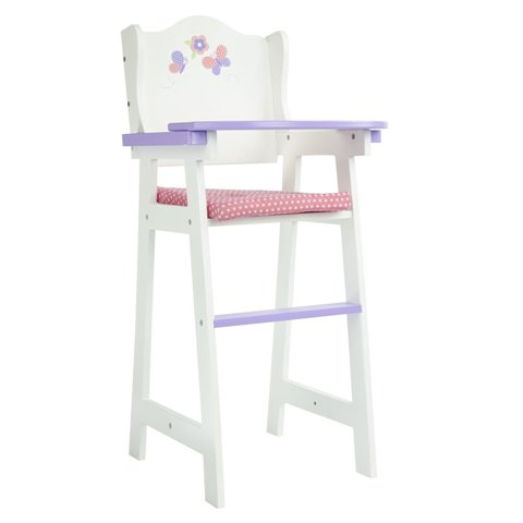 Teamson Design Corp TD-0098A Little Princess Doll Furniture - Baby High Chair, 18 In