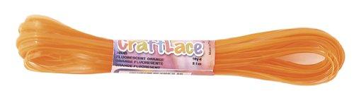 CraftLace Hank Fluorescent Orange - 10 yds - Pack of 24