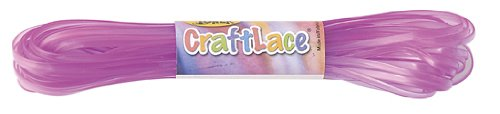 CraftLace Hank Fluorescent Purple - 10 yds - Pack of 24