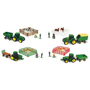 John Deere 37657A 10 Piece Farm Carded Set, Pack of 8