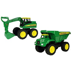 John Deere 37613A 15 in. Big Scoop Vehicle, Pack of 2