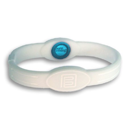 Pure Energy Band - Relaxation Band - White & White, Large