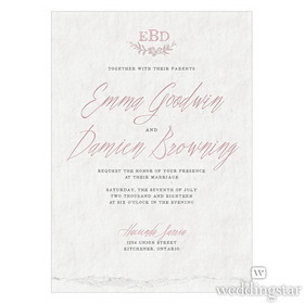 Wedding Star 1082-20-c92 Modern Fairy Tale Rsvp Vintage Pink - Pack of 24