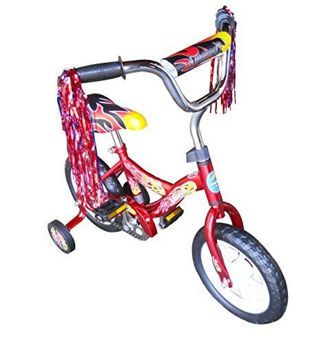 AmorosO B-312 red 12 in. Kids Bicycle - Red