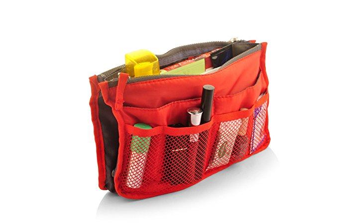 Bonita OR09-80RD Treat Travel Organiser In Red