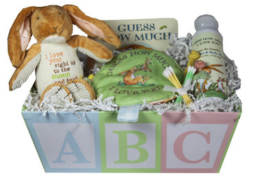Baby Gift Idea GUESS Basket Guess How Much I Love You