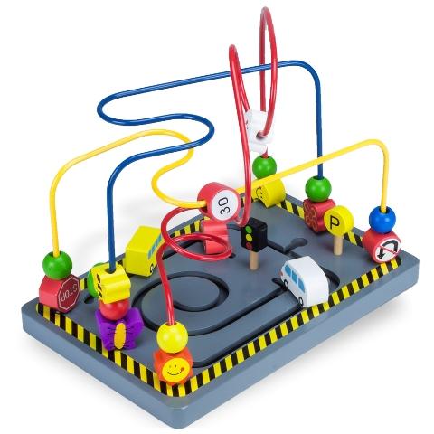 BrybellyHoldings TCDG-011 Wooden Wonders Twisty Traffic Bead Maze