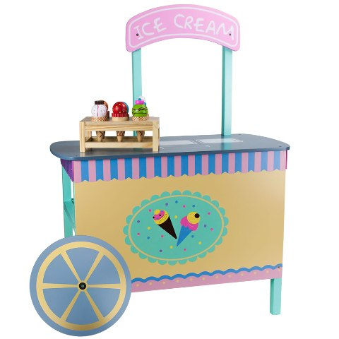 BrybellyHoldings TWRP-002 Wooden Wonders The Incredible Ice Cream Cart