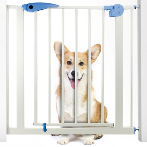 BrybellyHoldings AGAT-001 Heavy Duty Easy Open Pet Walk-Thru Safety Gate