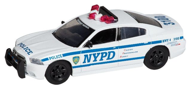 New York City Die-Cast NY71694 1-43 Nypd Dodge Charger DARON12937