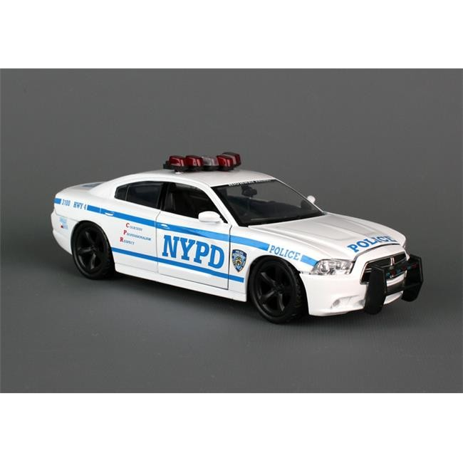 New York City Die-Cast NY71693 1-24 Nypd Dodge Charger