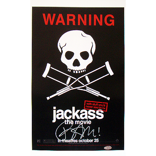 Steiner Sports MARGPOS000000 Bam Margera Signed Jackass Poster