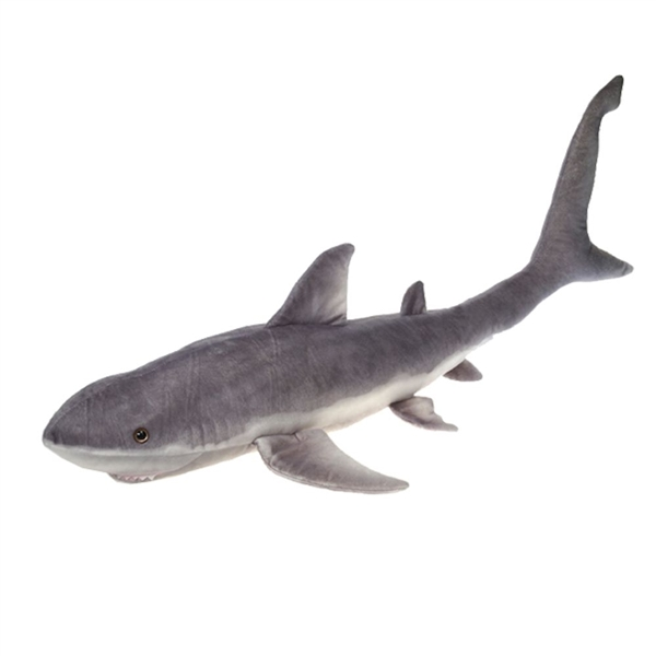 Fiesta Toys A52602 Great White Shark Plush Stuffed Animal Toy - 54 in.