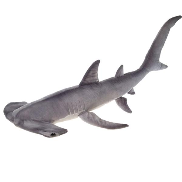 Fiesta Toys A52619 Hammerhead Shark Plush Stuffed Animal Toy - 47 in.