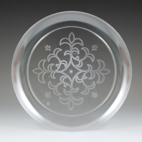 Maryland Plastics CASE-MPI0705 Sovereign 7 .25 in. Imported Etched Plate, 10-25 - 250