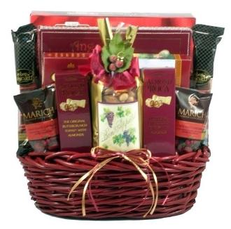 Gift Basket Village BuBe V.I.P. Snacks A