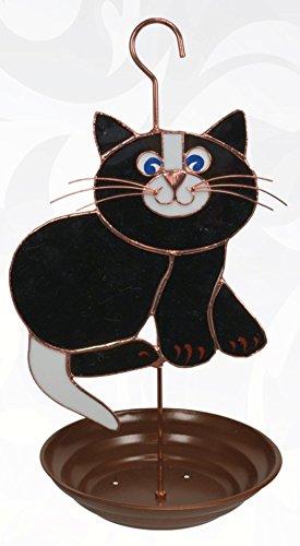 Gift Essentials GE196 Black Cat Bird Feeder