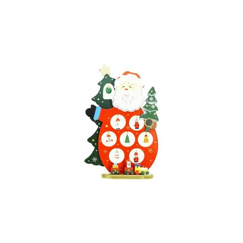 NorthLight 10.25 in. Wooden Santa Claus Cut-Out