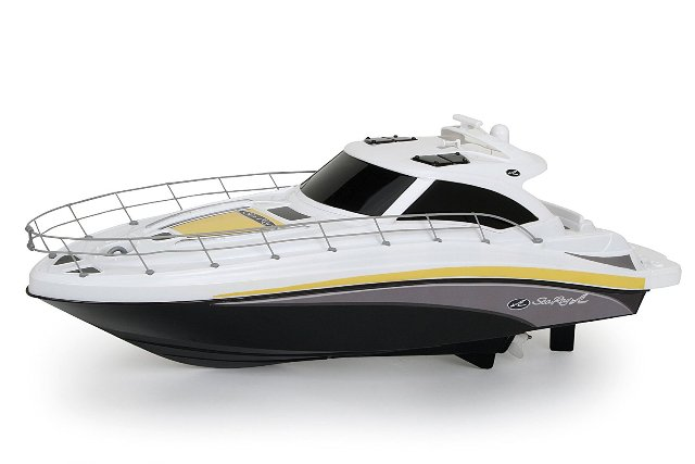 New Bright 7185B 18'' Sea Ray R/C FF Boat - Black