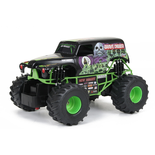New Bright 2430-1 1:24 Scale R/C Monster Jam Grave Digger