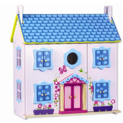 Classic Toy 2133 Wood doll House with Furniture