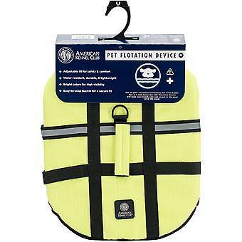 BH Pet Gear AK9001-01933 AKC Flotation Vest, Yellow - Small