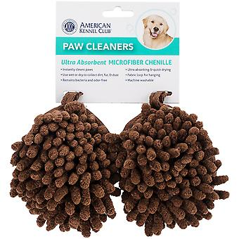 BH Pet Gear AK9105-1379 Dri-Tail Paw Cleaners, Brown - 3 x 4 in. Pack of 2