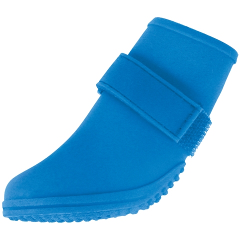 BH Pet Gear JW7200L-1502 Jelly Wellies Boots Large, Blue - 3 in.