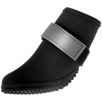BH Pet Gear JW7200S-1525 Jelly Wellies Boots Small, Black - 2 in.