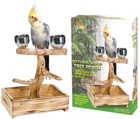 Penn Plax BA1043 Bird Perch Tree For Small & Medium Birds