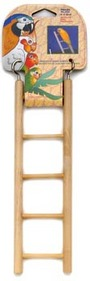 Penn Plax BA105 5 Step Wooden Ladder