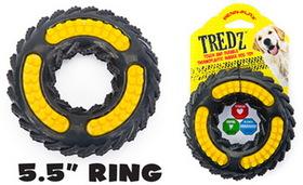 Penn Plax FT12 Tredz Rubber Dog Toys Wheel - 5.5 in.