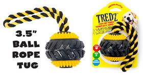 Penn Plax FT13 Tredz Ball Dog Toy, 3.5 in.