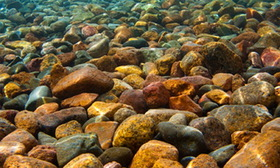 River Rocks 3d Depth Aquarium Background 20