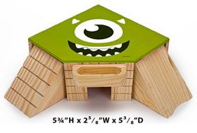 Penn Plax MU20 Small Animal Monsters University Cozy Co-Op Play House