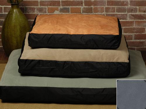 The Shrimp 3635 - Original Medium Bed - Faux Suede - Clay BGSH236