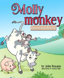 Big Tent Books BTB017 Molly Monkey Book by John Rosano