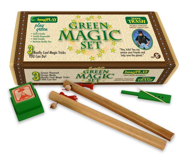 ImagiPLAY 90102 Green Magic Set