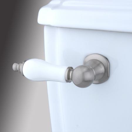 Kingston Brass KTPL8 Porcelain Tank Lever - Satin Nickel