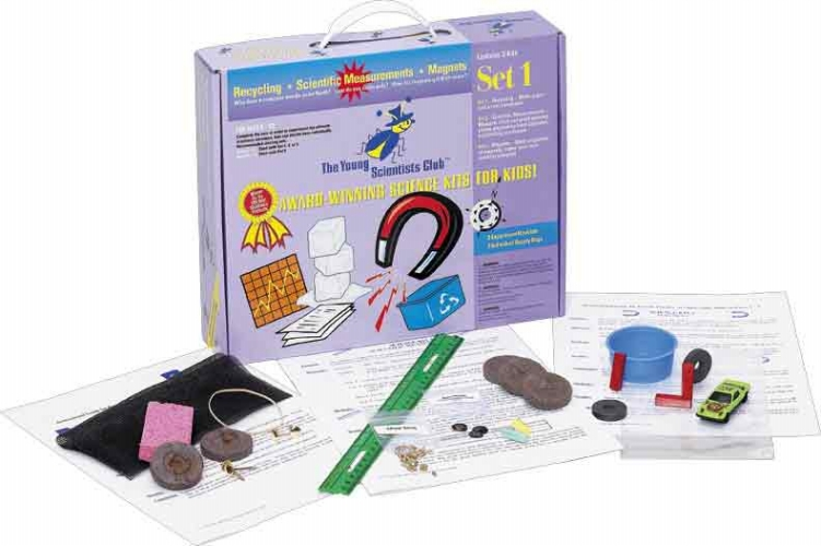 The Young Scientists Club WH-925-1101 Young Scientist Series- Set 1: Recycling - Scientific Measurements - Magnets