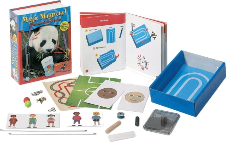 The Young Scientists Club WH-925-1115 Adventure Science Series- Magic Magnets Kit