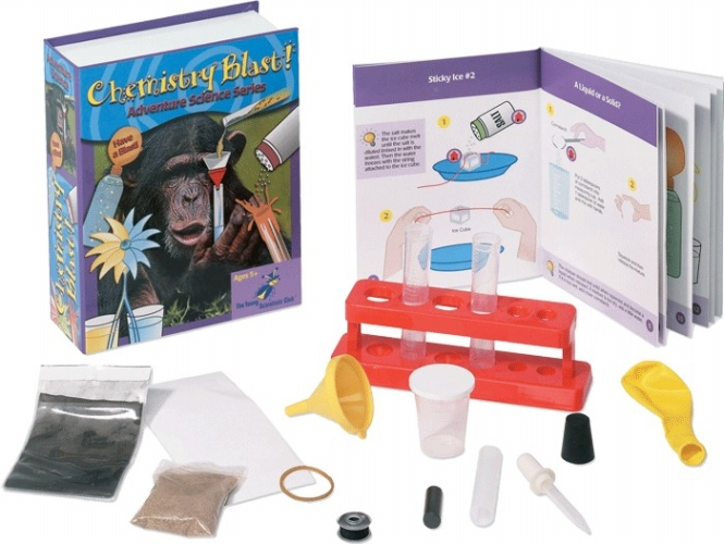 The Young Scientists Club WH9251117 Adventure Science Series Chemistry Blast Kit