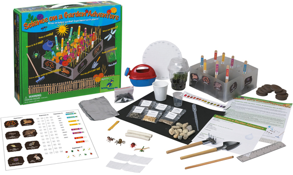 The Young Scientists Club WH9251131 Nature Series Science On A Gardening Adventure Kit