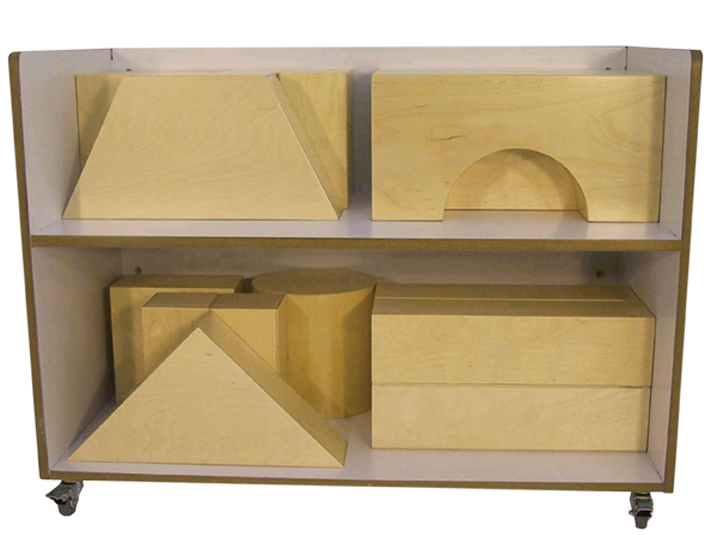 APlus Childsupply F8814X Storage Cart for Blocks