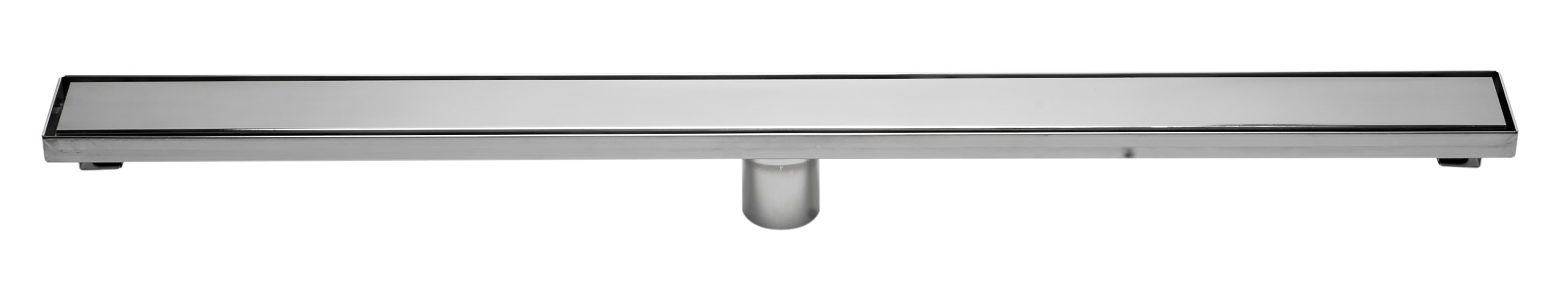 ALFI ABLD36B-PSS Modern Polished Stainless Steel Linear Shower Drain with Solid Cover - 36 in.